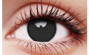 Black Screen Coloured Contact Lenses