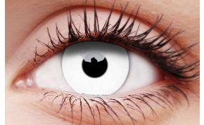 Glow White Coloured Contact Lenses