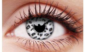 White Leopard Coloured Contact Lenses