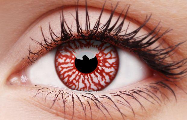 Bloodshot Coloured Contact Lenses