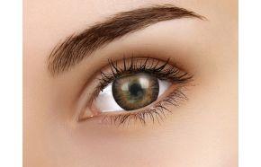 3 Tones Brown Coloured Contact Lenses