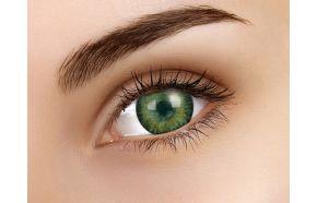 3 Tones Green Coloured Contact Lenses