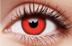 Red Devil 1 Year Coloured Contact Lenses